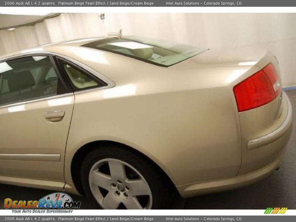 2006 Audi A8 L 4 2 Quattro Platinum Beige Pearl Effect