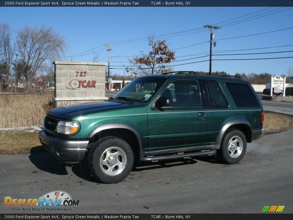 2000 ford explorer sport 4x4 spruce green metallic medium prairie. Cars Review. Best American Auto & Cars Review