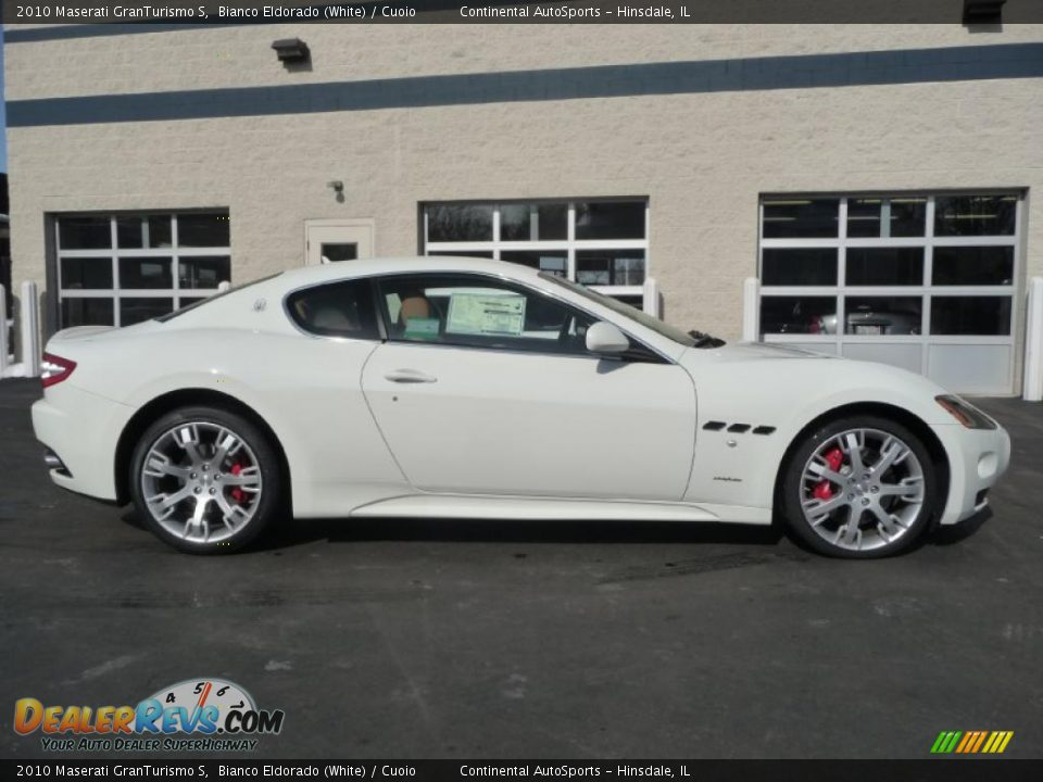 2010 Maserati Granturismo S Bianco Eldorado White