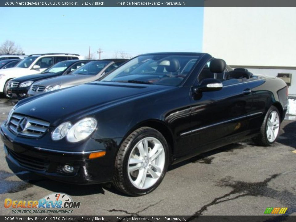 2006 mercedes benz clk 350 cabriolet black black photo for Mercedes benz 350 convertible