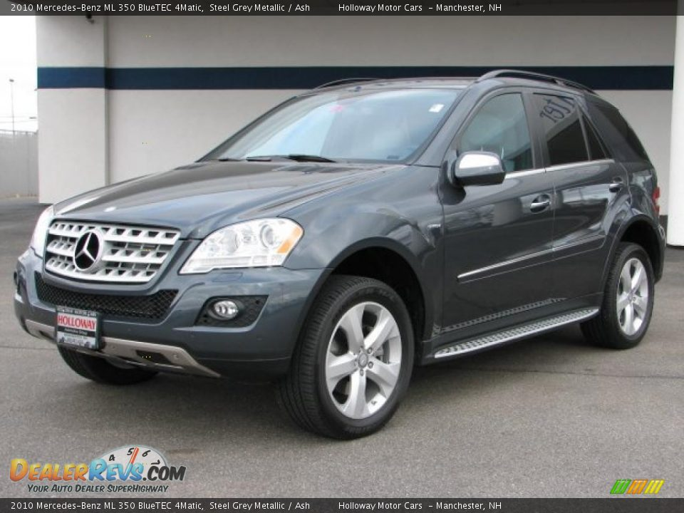 2010 mercedes benz ml 350 bluetec 4matic steel grey metallic ash photo 1. Black Bedroom Furniture Sets. Home Design Ideas