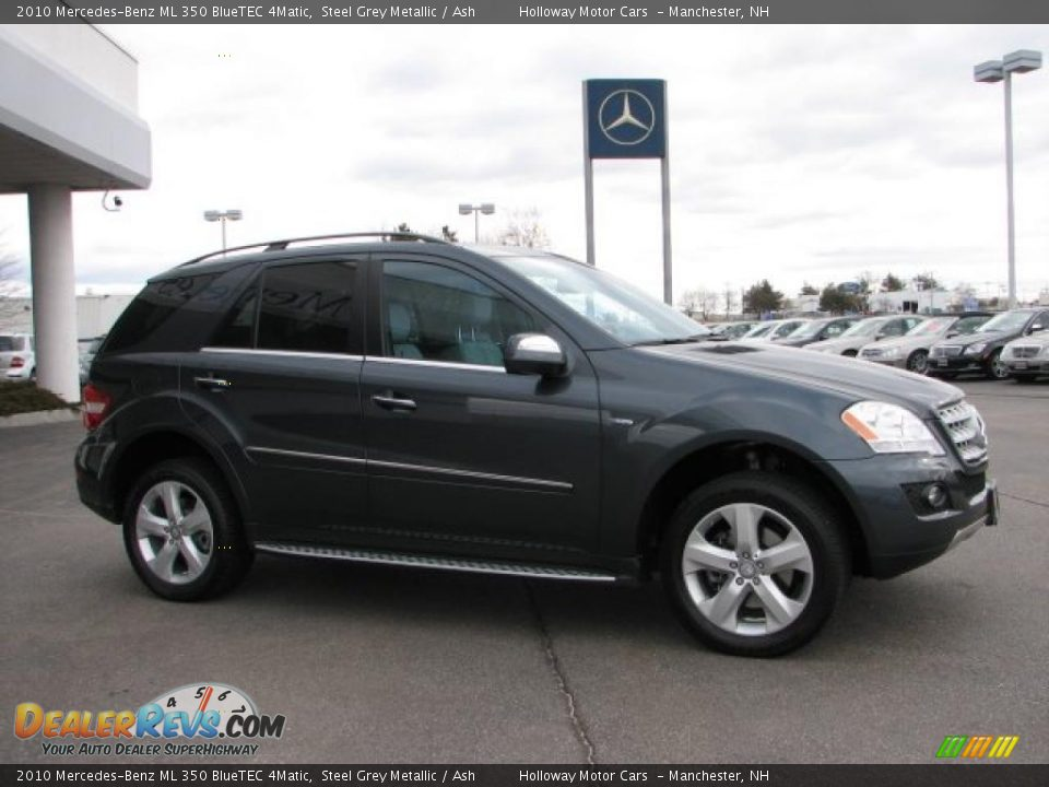 2010 mercedes benz ml 350 bluetec 4matic steel grey for Mercedes benz ml350 4matic 2010