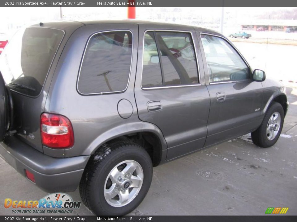 2002 kia sportage 4x4 pewter gray gray photo 4. Black Bedroom Furniture Sets. Home Design Ideas