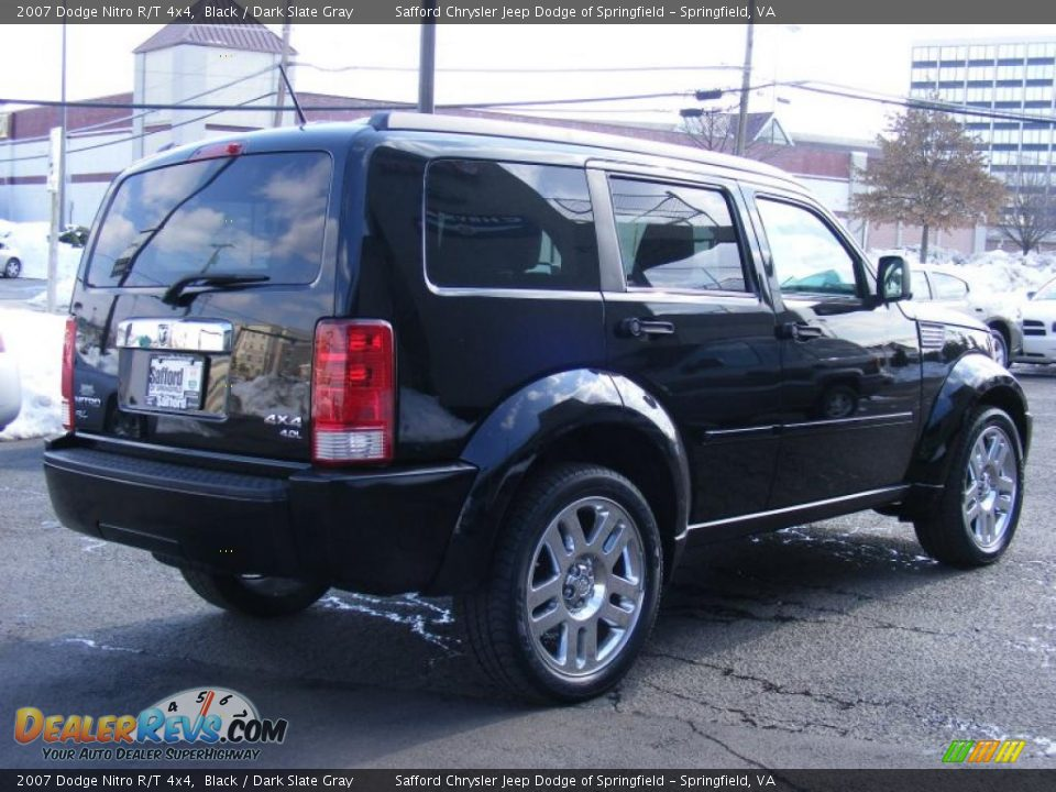 2007 dodge nitro r t 4x4 black dark slate gray photo 5. Black Bedroom Furniture Sets. Home Design Ideas
