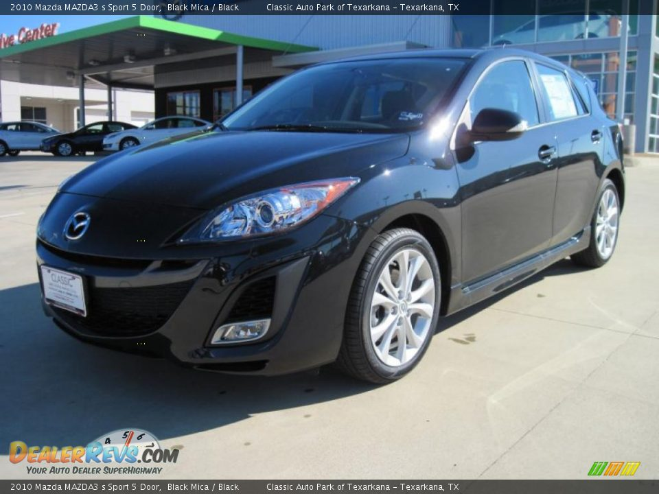 2010 mazda mazda3 s sport 5 door black mica black photo 1. Black Bedroom Furniture Sets. Home Design Ideas