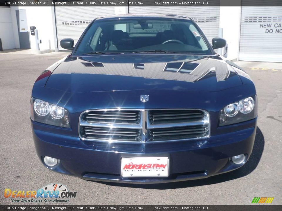 2006 Dodge Charger Sxt Midnight Blue Pearl Dark Slate