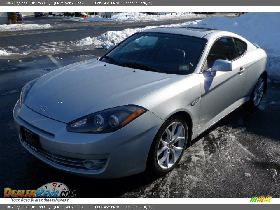 2007 hyundai tiburon gt quicksilver black photo 6. Black Bedroom Furniture Sets. Home Design Ideas