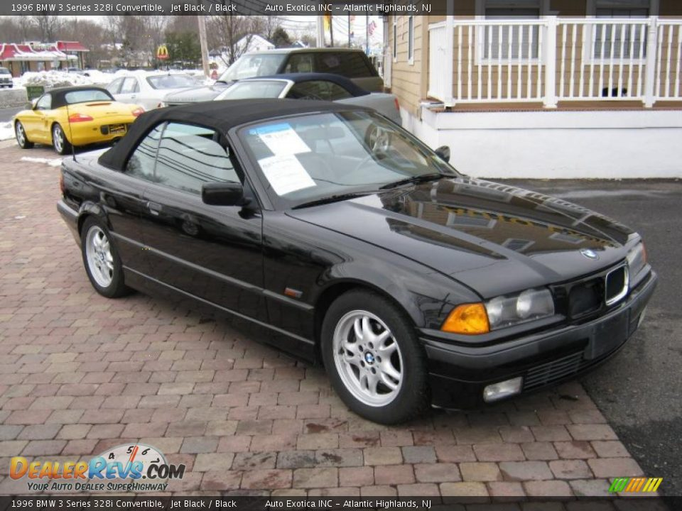 1996 bmw 3 series 328i convertible jet black black photo. Black Bedroom Furniture Sets. Home Design Ideas