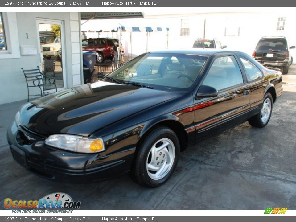 1997 ford thunderbird lx coupe black tan photo 1. Cars Review. Best American Auto & Cars Review