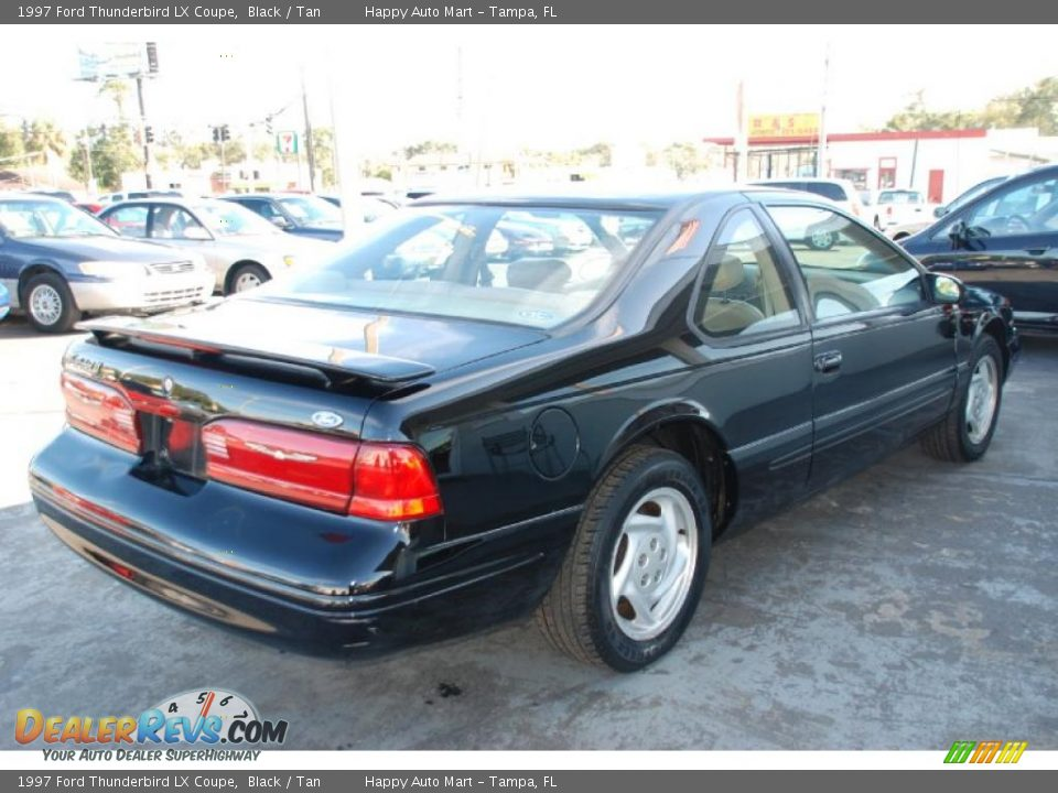 1997 ford thunderbird lx coupe black tan photo 9. Cars Review. Best American Auto & Cars Review