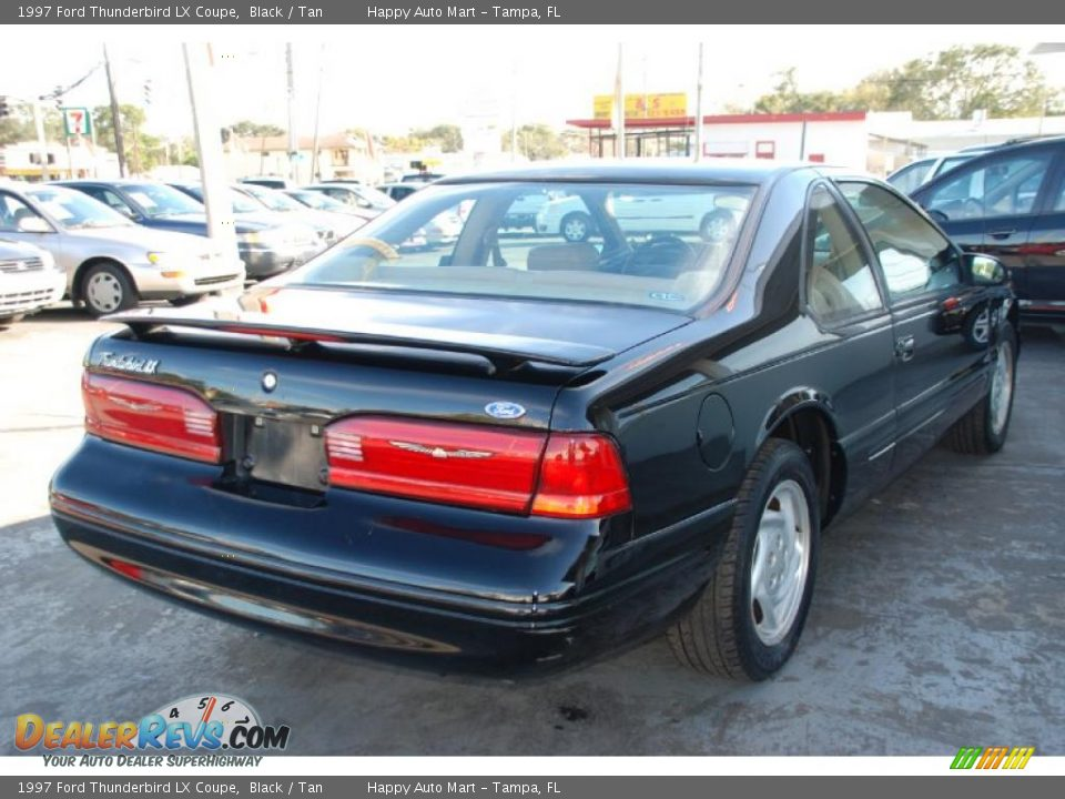 1997 ford thunderbird lx coupe black tan photo 10. Cars Review. Best American Auto & Cars Review