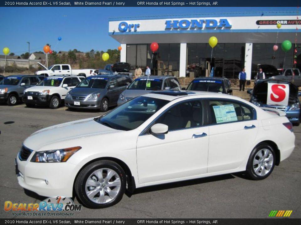 2010 Honda Accord EX L Sedan photo - 1