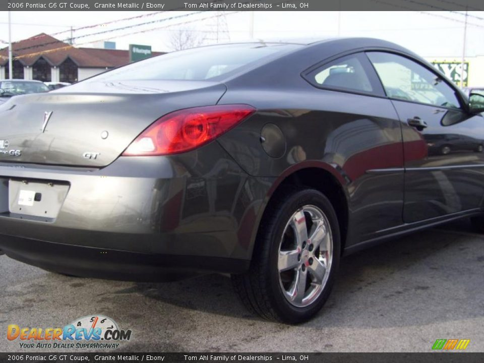 2006 Pontiac G6 GT Coupe Granite Metallic / Ebony Photo #3 ...