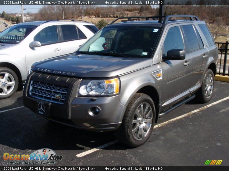 2008 Land Rover Lr2 Hse Stornoway Grey Metallic Ebony