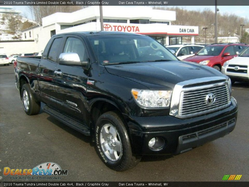 2010 toyota tundra limited double cab 4x4 black graphite. Black Bedroom Furniture Sets. Home Design Ideas