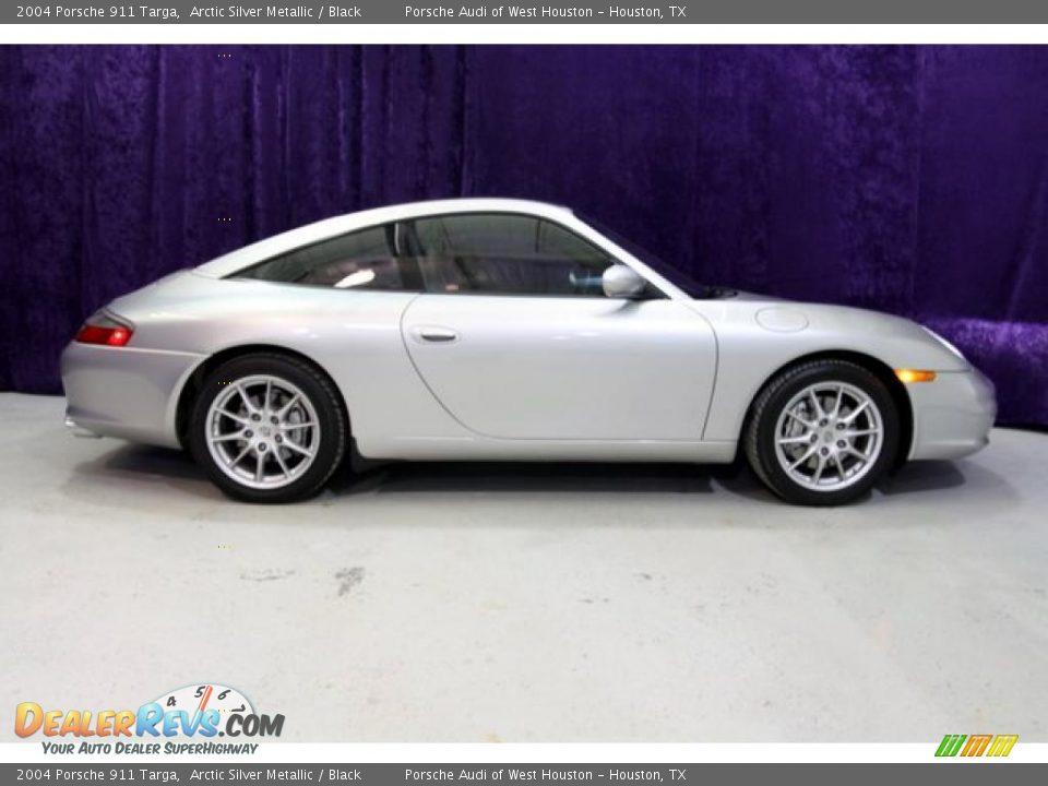 2004 Porsche 911 Targa Arctic Silver Metallic Black