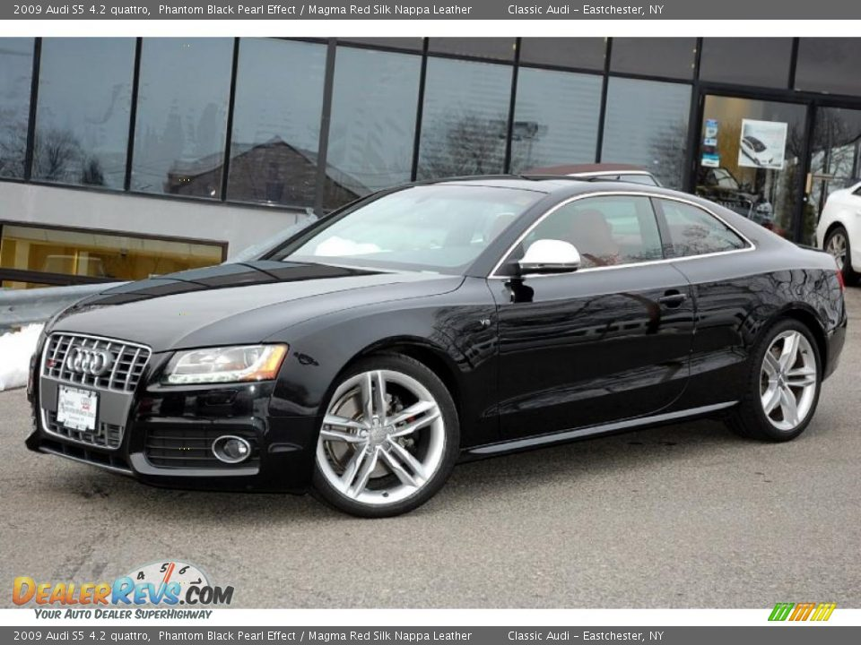 2009 Audi S5 4 2 Quattro Phantom Black Pearl Effect