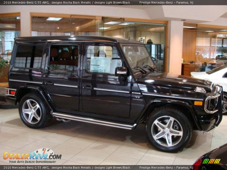 2010 mercedes benz g 55 amg designo mocha black metallic for Mercedes benz dealership locations