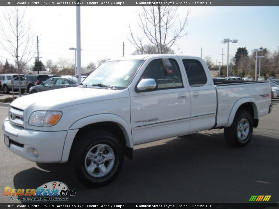 2006 toyota tundra sr5 trd access cab 4x4 natural white taupe photo 5. Black Bedroom Furniture Sets. Home Design Ideas