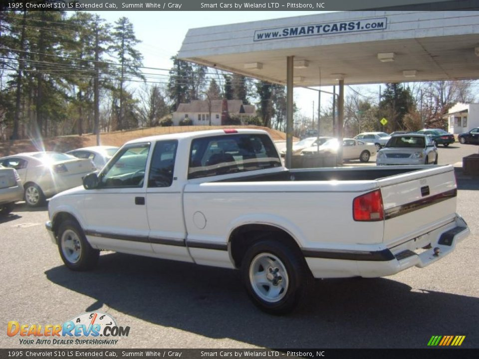 1995 chevrolet s10 ls extended cab summit white gray photo 6. Black Bedroom Furniture Sets. Home Design Ideas