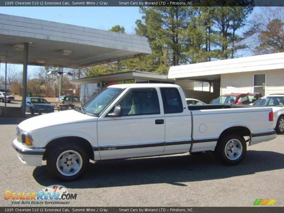 1995 chevrolet s10 ls extended cab summit white gray photo 7. Black Bedroom Furniture Sets. Home Design Ideas