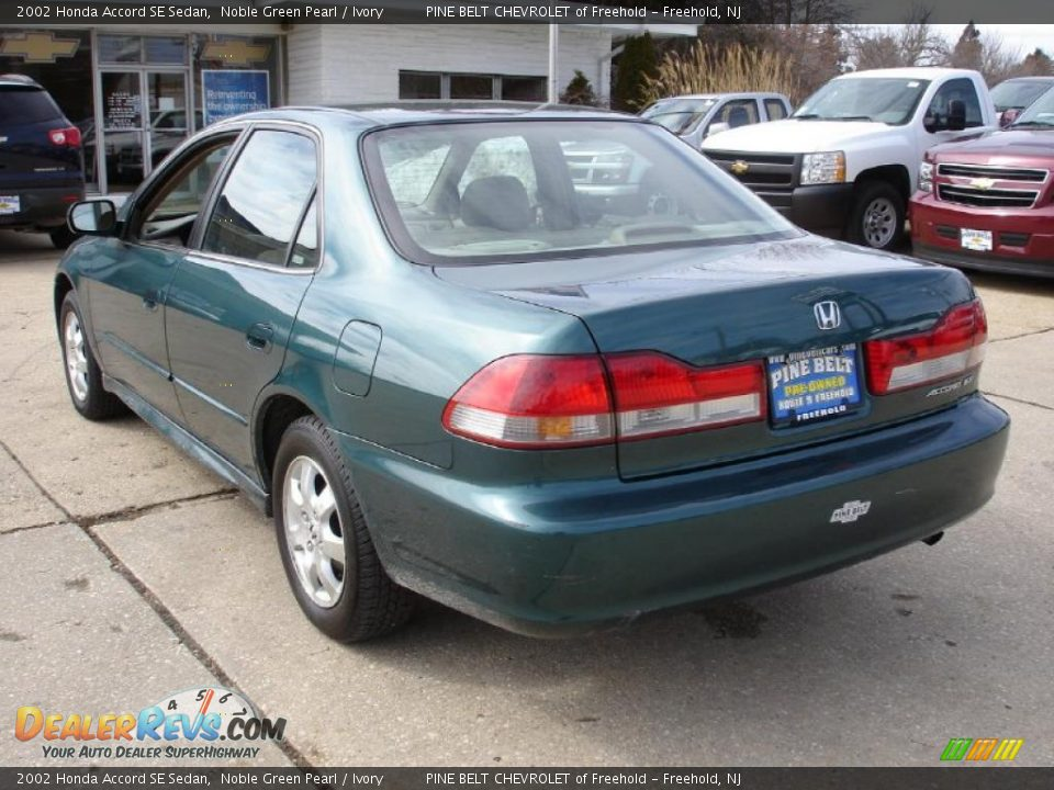 Honda Accord Sedan 2002 2002 Honda Accord se Sedan