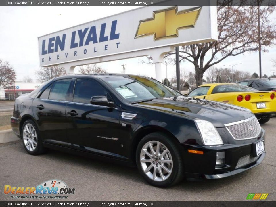 2008 cadillac sts v series black raven ebony photo 1 dealerrevs. Cars Review. Best American Auto & Cars Review