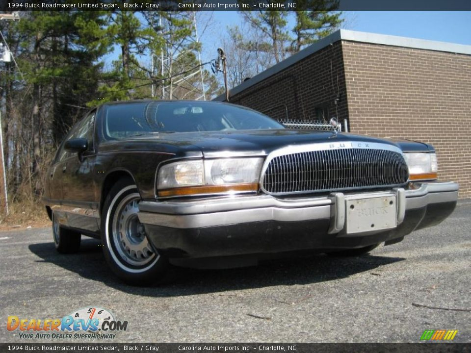 1994 buick roadmaster limited sedan black gray photo 2. Cars Review. Best American Auto & Cars Review