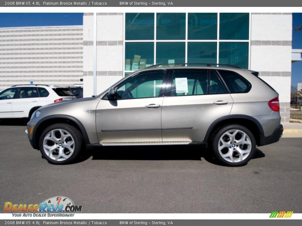 2008 Bmw X5 4 8i Platinum Bronze Metallic Tobacco Photo