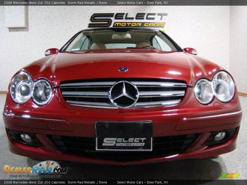 2008 mercedes benz clk 350 cabriolet storm red metallic for 2008 mercedes benz clk 350