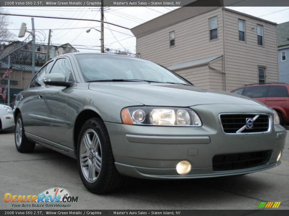 2008 volvo s60 2 5t willow green metallic graphite photo. Black Bedroom Furniture Sets. Home Design Ideas