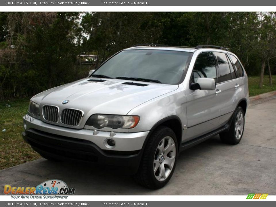 2001 bmw x5 titanium silver metallic black photo 1. Black Bedroom Furniture Sets. Home Design Ideas