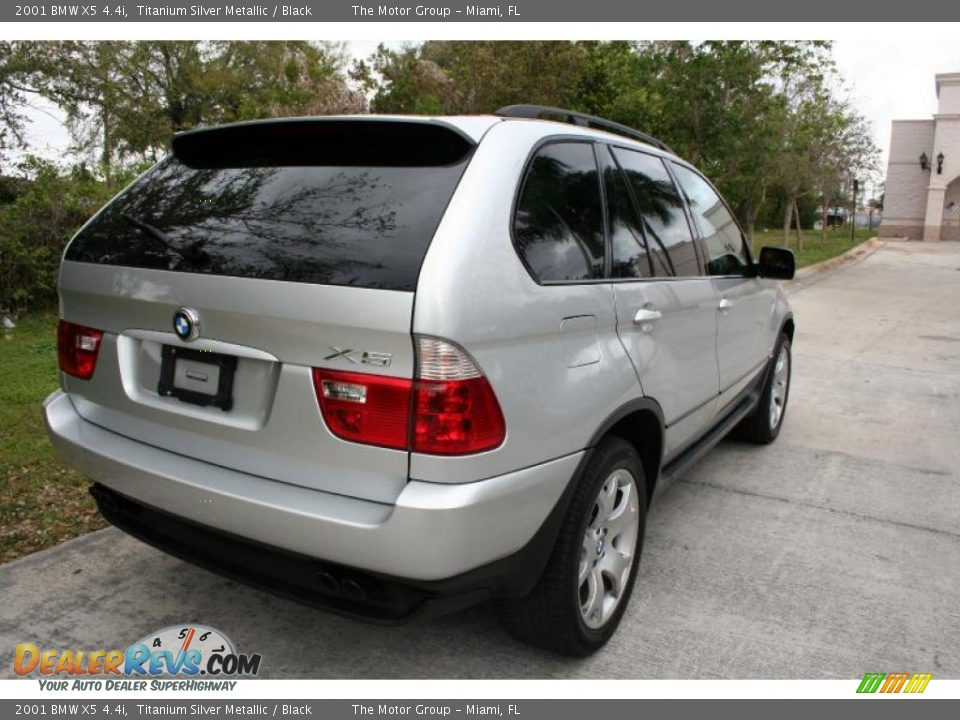 2001 Bmw X5 4 4i Titanium Silver Metallic Black Photo