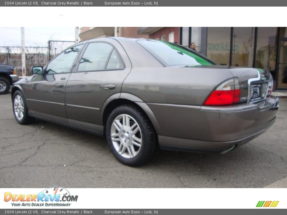 2004 lincoln ls v8 charcoal grey metallic black photo 3 for State motors lincoln dealer manchester nh