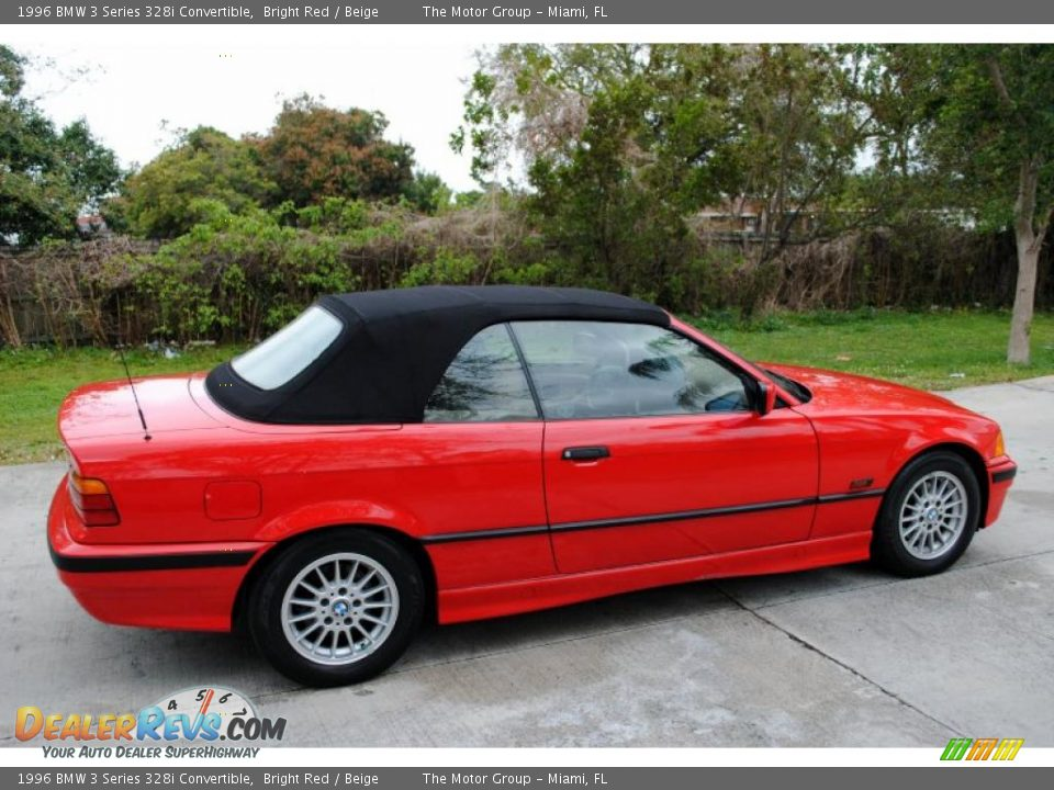 bright red 1996 bmw 3 series 328i convertible photo 8. Black Bedroom Furniture Sets. Home Design Ideas