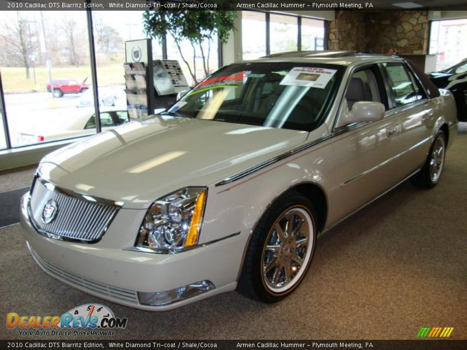 2010 Cadillac Dts Biarritz Edition White Diamond Tri Coat