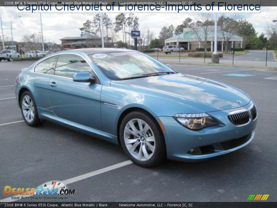 2008 bmw 6 series 650i coupe atlantic blue metallic. Black Bedroom Furniture Sets. Home Design Ideas