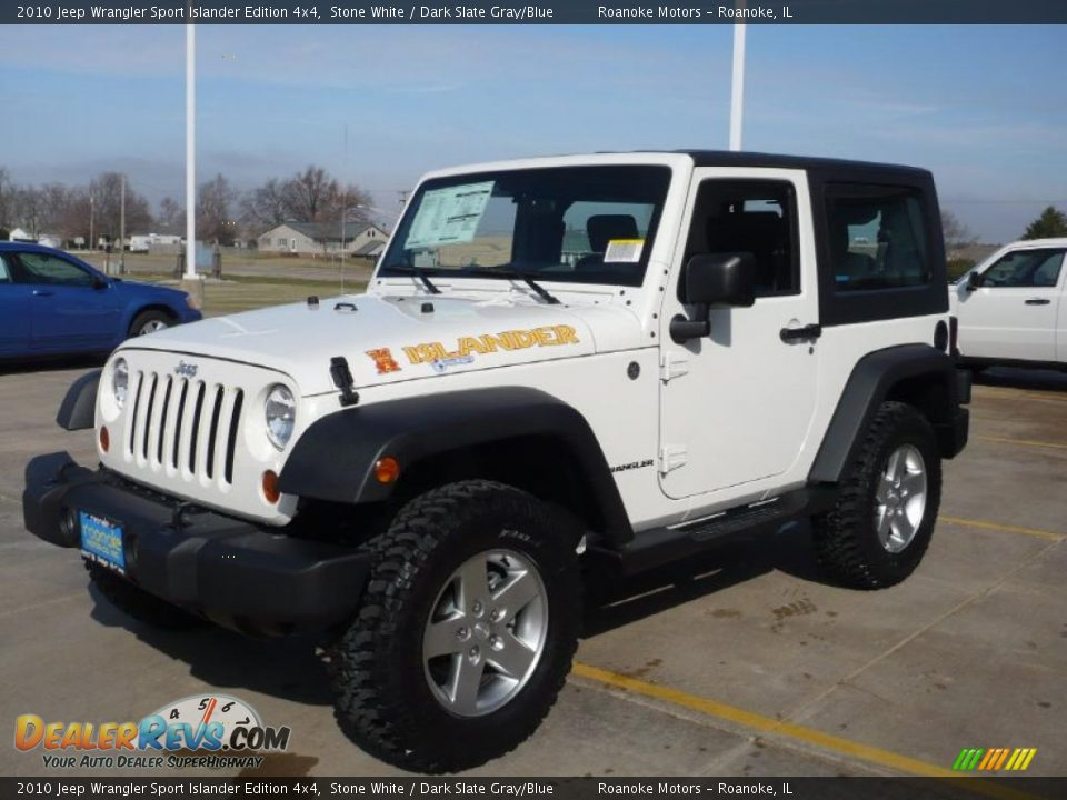 2010 jeep wrangler sport islander edition 4x4 stone white. Black Bedroom Furniture Sets. Home Design Ideas