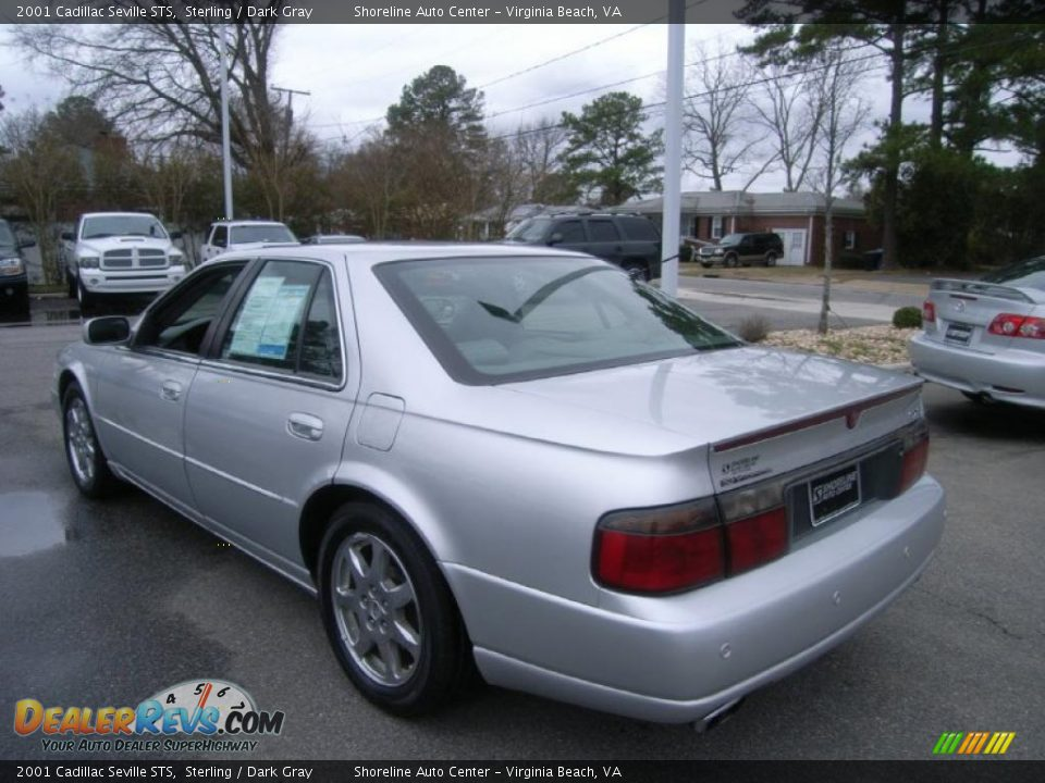 2001 Cadillac Seville Sts Sterling Dark Gray Photo 3