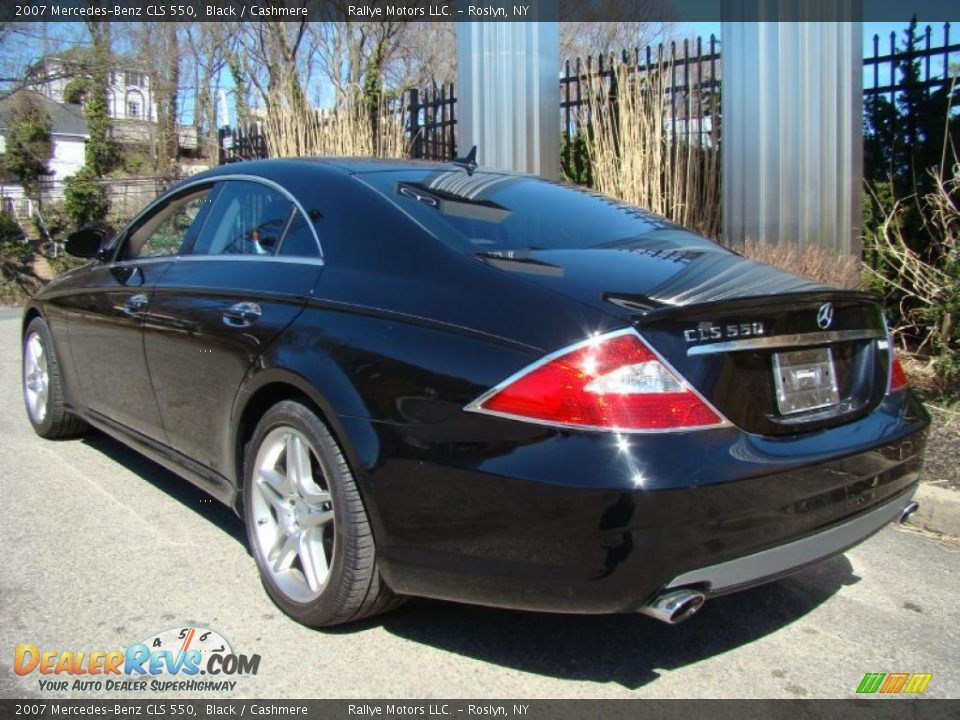 2007 mercedes benz cls 550 black cashmere photo 4 for 2007 mercedes benz cls