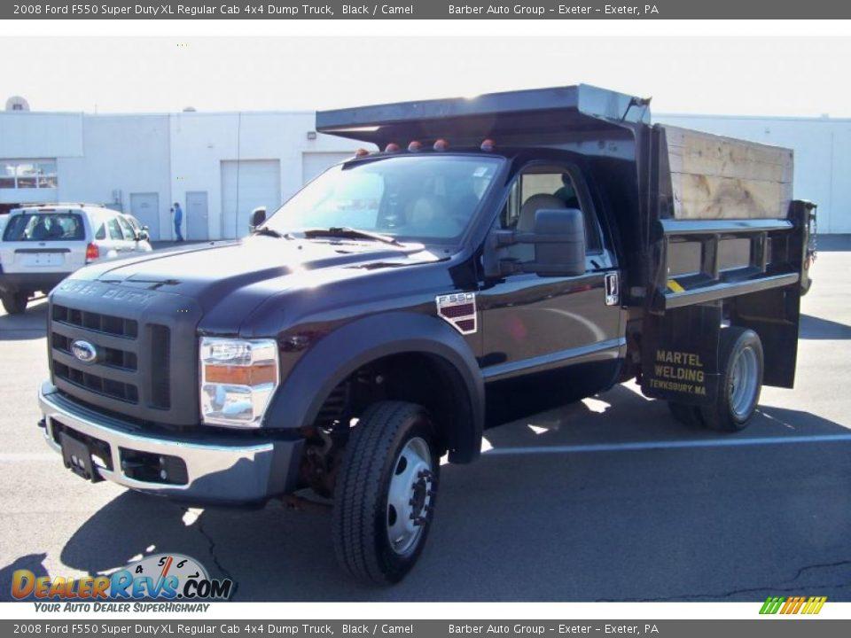 2008 Ford F550 Super Duty Xl Regular Cab 4x4 Dump Truck