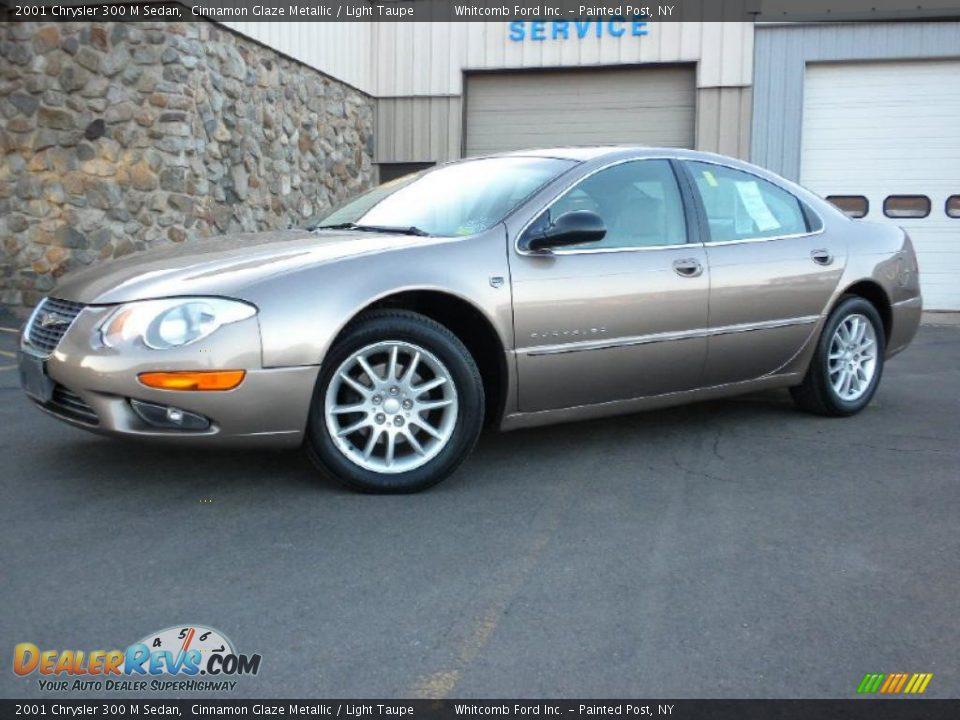 2001 Chrysler 300 M Sedan Cinnamon Glaze Metallic Light