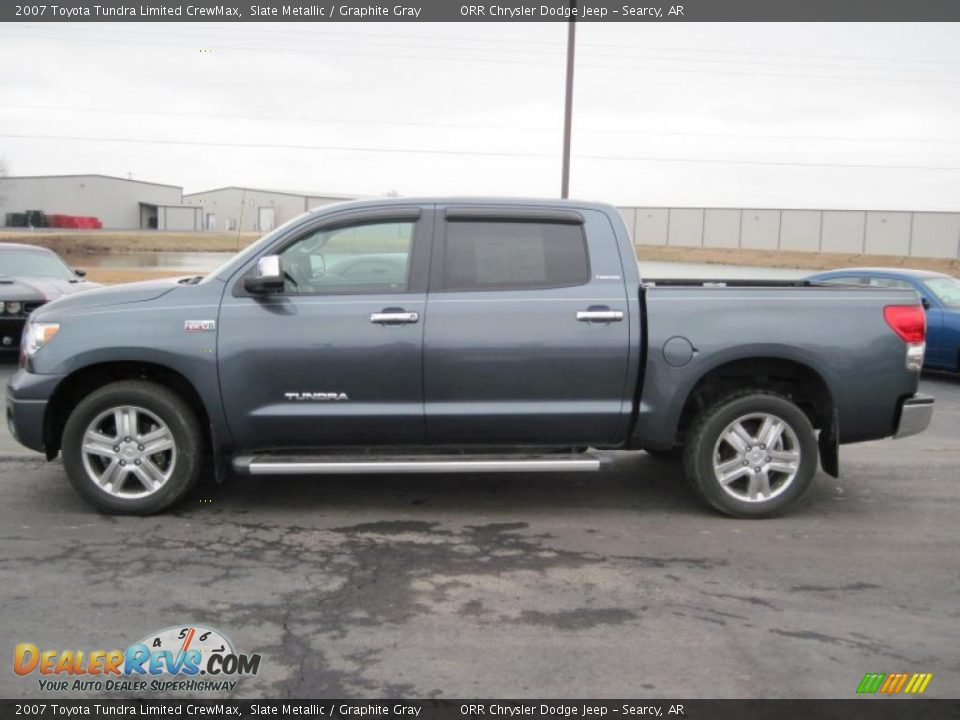 2007 toyota tundra limited crewmax slate metallic graphite gray photo 5. Black Bedroom Furniture Sets. Home Design Ideas