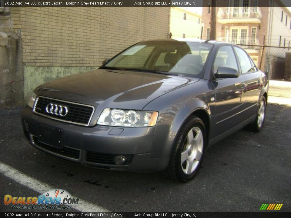 2002 audi a4 3 0 quattro sedan dolphin grey pearl effect. Black Bedroom Furniture Sets. Home Design Ideas