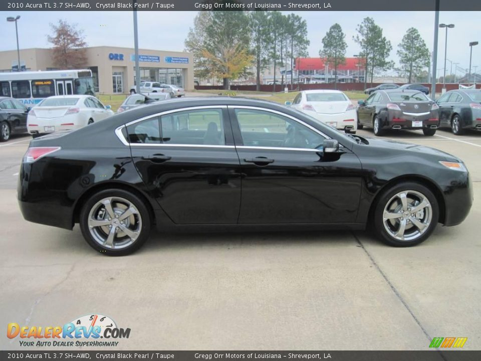 2010 acura tl 3 7 sh awd crystal black pearl taupe photo. Black Bedroom Furniture Sets. Home Design Ideas