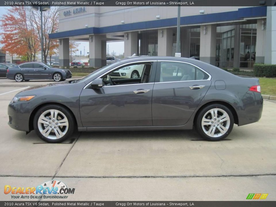2010 acura tsx v6 sedan polished metal metallic taupe. Black Bedroom Furniture Sets. Home Design Ideas
