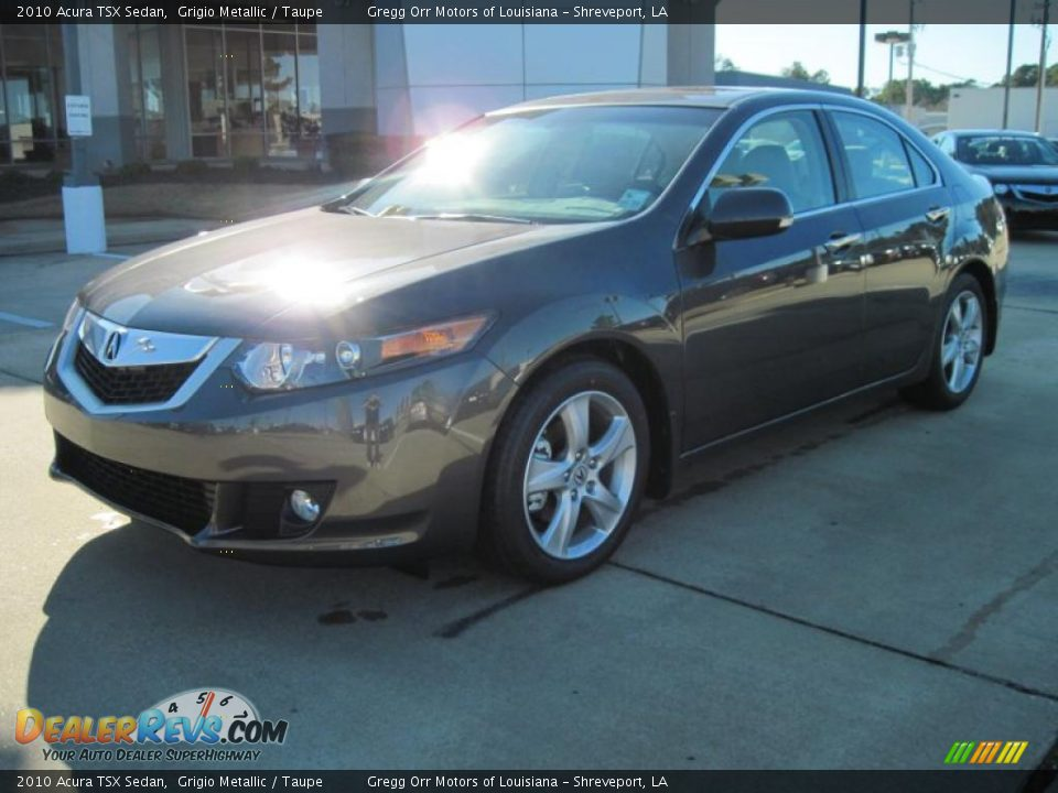 2010 acura tsx sedan grigio metallic taupe photo 1. Black Bedroom Furniture Sets. Home Design Ideas