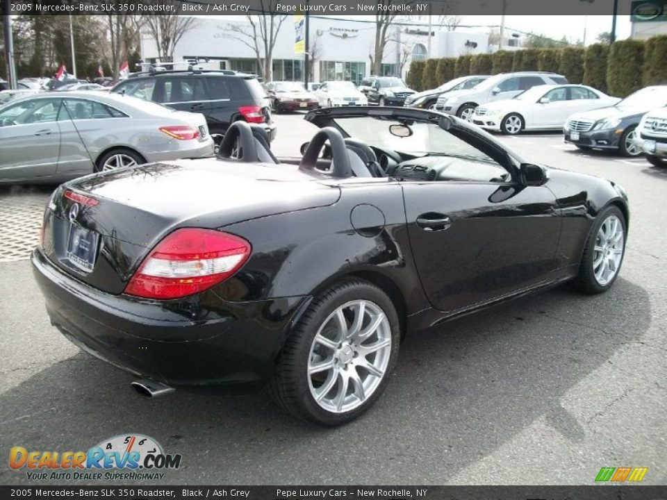2005 mercedes benz slk 350 roadster black ash grey photo. Black Bedroom Furniture Sets. Home Design Ideas