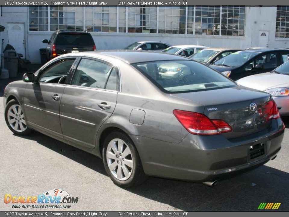 2007 Toyota Avalon XLS Phantom Gray Pearl / Light Gray Photo #7 ...