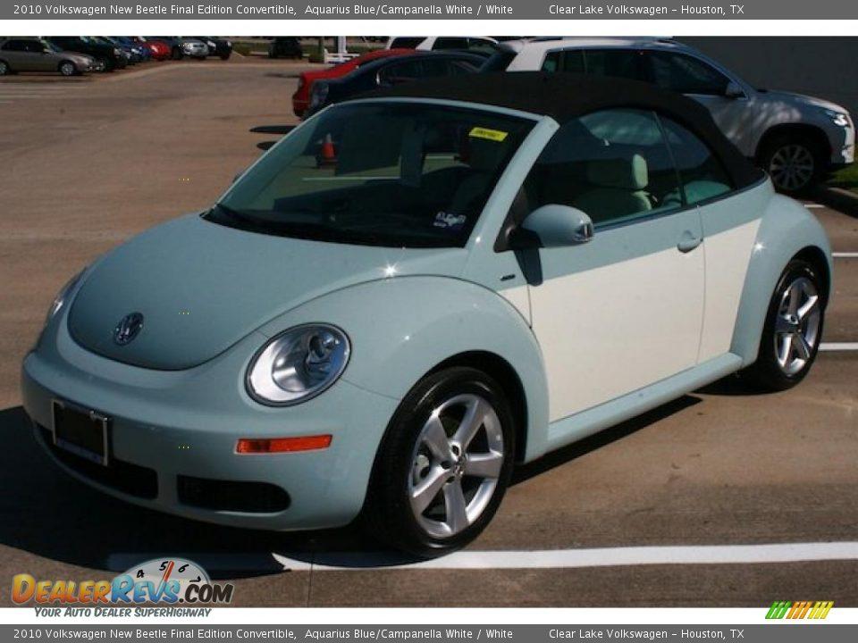 2010 Volkswagen New Beetle Final Edition Convertible ...